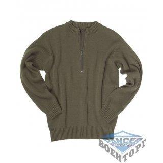 Армейский свитер SCHWEIZ.ARMEEPULLOVER M.RV олива