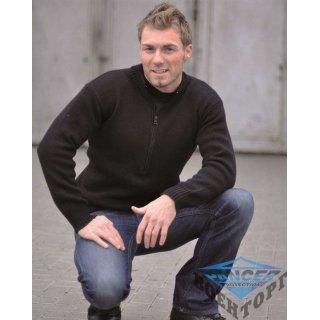 Армейский свитер SCHWEIZ.ARMEEPULLOVER M.RV черный