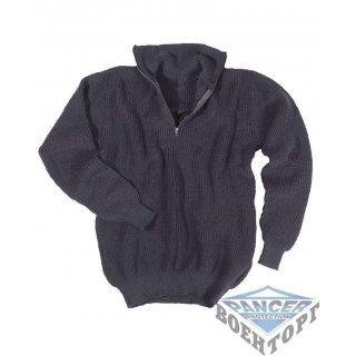 Армейский пуловер TROYER (750 GR) темно-синий