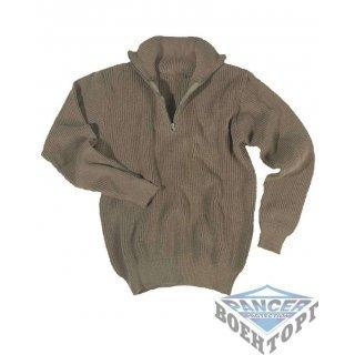 Армейский пуловер TROYER (750 GR) олива