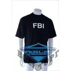 Футболка T-SHIRT M.DRUCK ?FBI? черная
