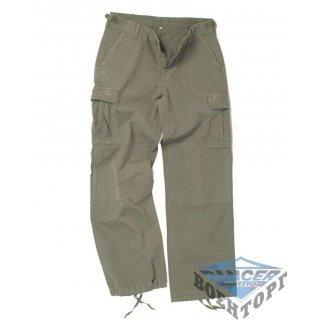 Армейские штаны женские US OD WOMEN BDU R/S C. PW. FIELD PANTS