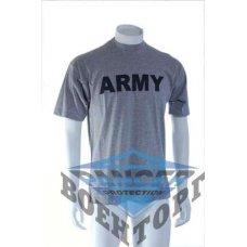 Футболка военная T-SHIRT M.DRUCK ?ARMY? серая