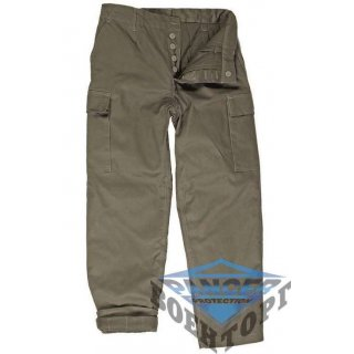 Армейские штаны GERMAN OD LINED MOLESKIN PANTS
