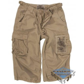 Бриджи военные KHAKI PREWASH AIR COMBAT 3/4 PANTS