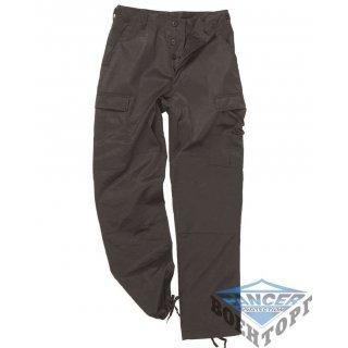 Армейские штаны US BLACK BDU STYLE FIELD PANTS черные