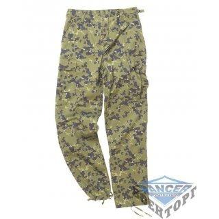 Армейские штаны US DANISH CAMO BDU STYLE FIELD PANTS