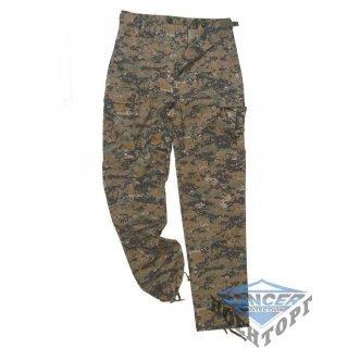 Армейские штаны US DIGITAL W/L BDU STYLE FIELD PANTS
