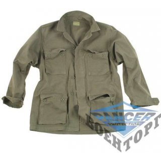 Китель US OD BDU STYLE R/S CO.PREW.FIELD JACKET