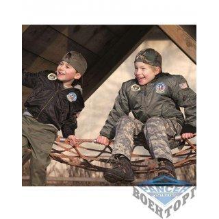 """Куртка летная детская OD MA1&""""""""#174; KIDS FLIGHT JACKET W. PATCHES"""