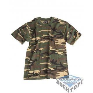 Детская камуфляжная футболка W/L KIDS T-SHIRT