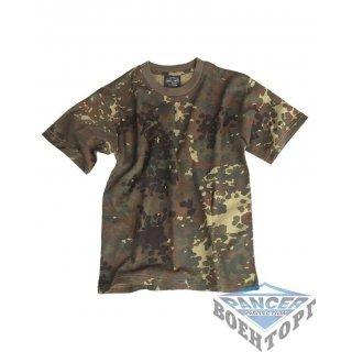 Детская камуфляжная футболка FLECTAR KIDS T-SHIRT
