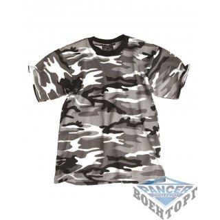 Детская камуфляжная футболка URBAN KIDS T-SHIRT