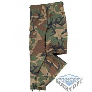 Детские камуфляжные брюки US W/L ZIP-OFF KIDS BDU STYLE PANTS