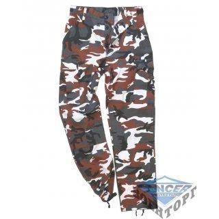 Детские камуфляжные брюки US RED CAMO KIDS BDU STYLE PANTS