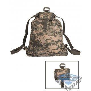 Камуфляжный рюкзак с подсумком ROLL-UP RUCKSACK AT-DIGITAL