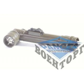 Г-образный фонарь US OD SMALL 2AA ANGLEHEAD FLASHLIGHT