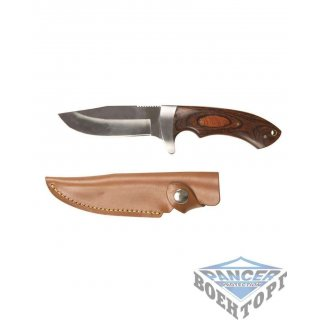 Охотничий нож HUNTING KNIFE WITH WOODEN HANDLE