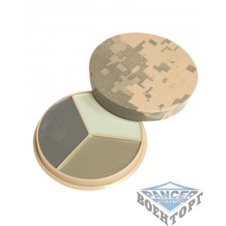 Камуфляжный грим AT-DIG.CAMO 3 COL.FACE PAINT SET W. MIR.