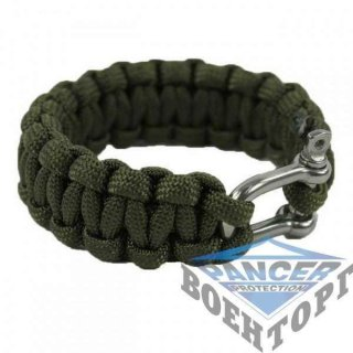 Браслет паракорд OD 15MM PARA BRACELET W. METAL CLOSURE