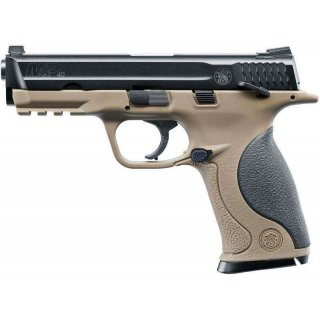 """Пистолет пневматический S&""""W MP40 TS FDE"""
