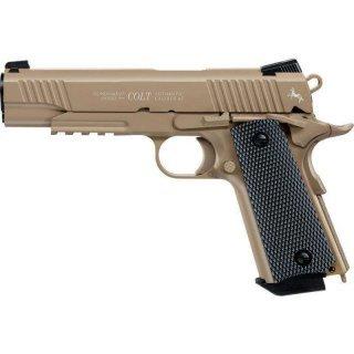 Пистолет пневматический Colt M45 CQBP FDE