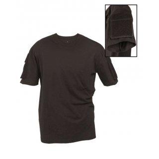 Тактическая футболка Милтек черная