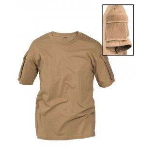 Тактическая футболка Милтек койот