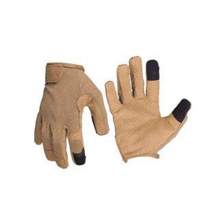 Перчатки сенсорные Милтек темный койот
