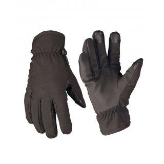 Перчатки Soft Shell Mil-Tec черные
