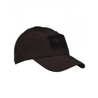 Бейсболка Soft Shell Милтек черная