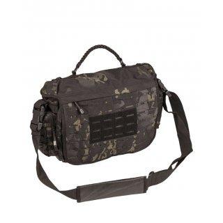 Тактическая сумка из паракорда  большая Милтек мультитарн темный