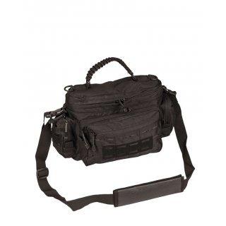 Тактическая сумка из паракорда малая Милтек черная