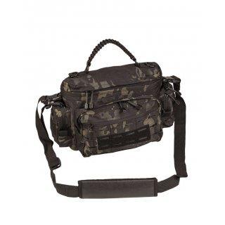 Тактическая сумка из паракорда малая Милтек мультитарн темный