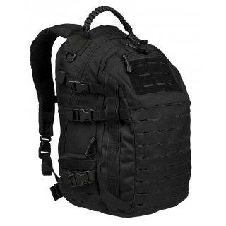 Тактический рюкзак малый с петлями Милтек черный