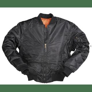Куртка летная FLIGHT JACKETMA1 STYLE черный