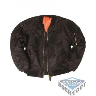 Куртка летная FLIGHT JACKET MA1® STYLE черный