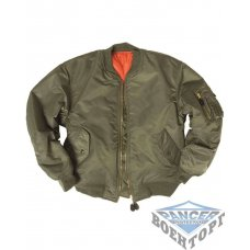 Куртка летная FLIGHT JACKET MA1 STYLE олива