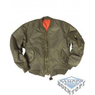 Куртка летная FLIGHT JACKET MA1® STYLE олива