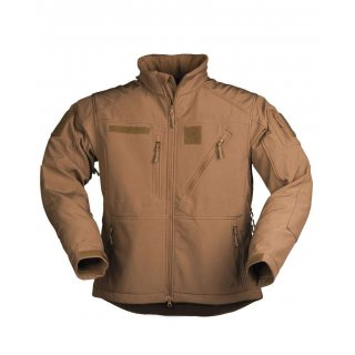 Куртка софтшел койот SCU 14 DARK COYOTE
