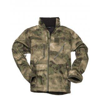 Куртка софтшел камуфляж SCU 14 MIL-TACS FG