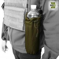Подсумок под бутылку раскладной олива