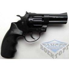 PROFI-3 черн/пласт Револьвер п/п Флобера кал. 4мм
