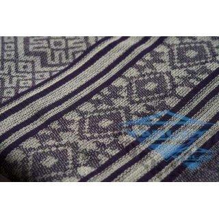 Арафатка беж-синий