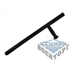 Дубинка Тонфа baton ,  CARBON  , with side handle , length : 59 cm