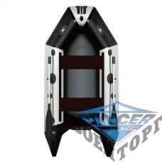 Килевая моторная лодка с жёсткой разборной палубой и надувным кильсоном AQUASTAR DINGI-RFD D-249 RFD