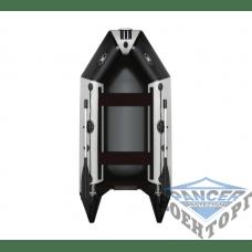 Килевая моторная лодка с жёсткой разборной палубой и надувным кильсоном AQUASTAR DINGI-RFD D-275 RFD