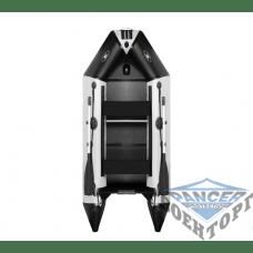 Килевая моторная лодка с жёсткой разборной палубой и надувным кильсоном AQUASTAR DINGI-RFD D-290 RFD