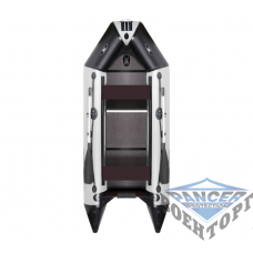 Килевая моторная лодка с жёсткой разборной палубой и надувным кильсоном AQUASTAR DINGI-RFD D-310 RFD