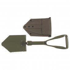 Лопата складная в пластиково чехле, модель армии Бундесвера, MFH